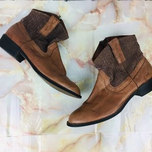 Steve Madden | Perforated Western Booties